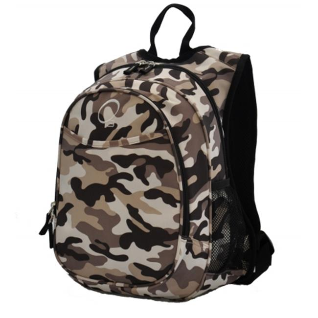 Obersee Kids Pre-School Camo Backpack with Integrated Lunch Cooler