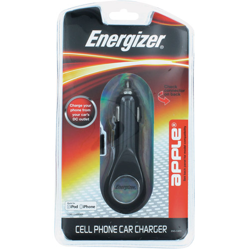 Energizer Dedicated Car Charger for Apple iPod/iPhone