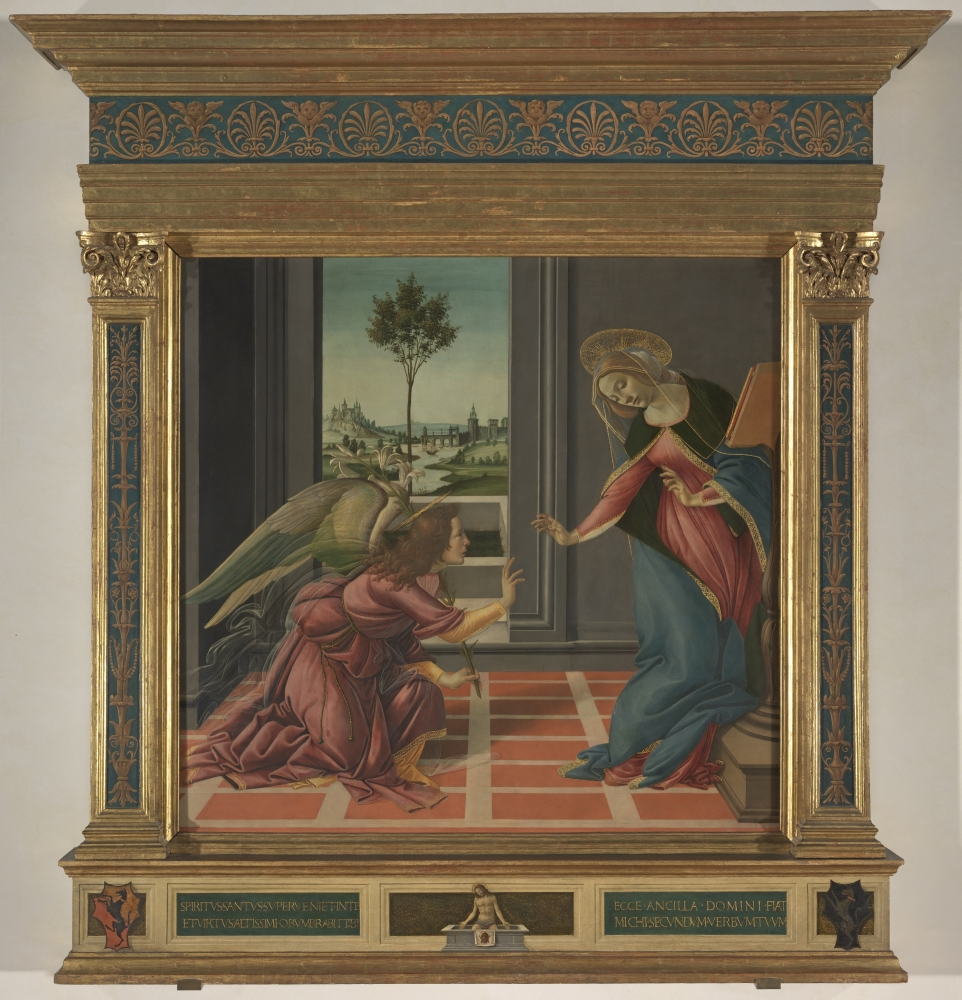 The Annunciation Poster Print
