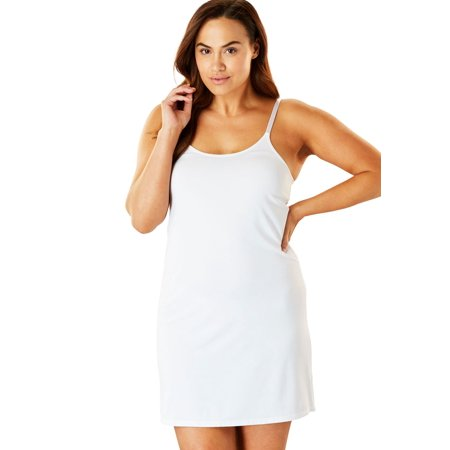 Comfort Choice Plus Size Full Microfiber Slip