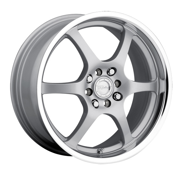 "15"" Inch Raceline 126 15x7 5x100/5x114.3(5x4.5"") +40mm Silver Wheel Rim"
