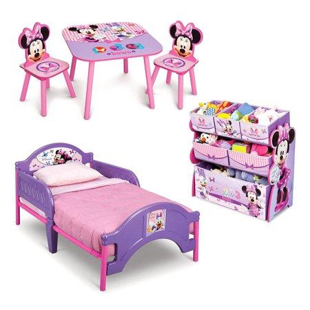 Delta Children Minnie Mouse 3 Piece Toddler Bedroom Set