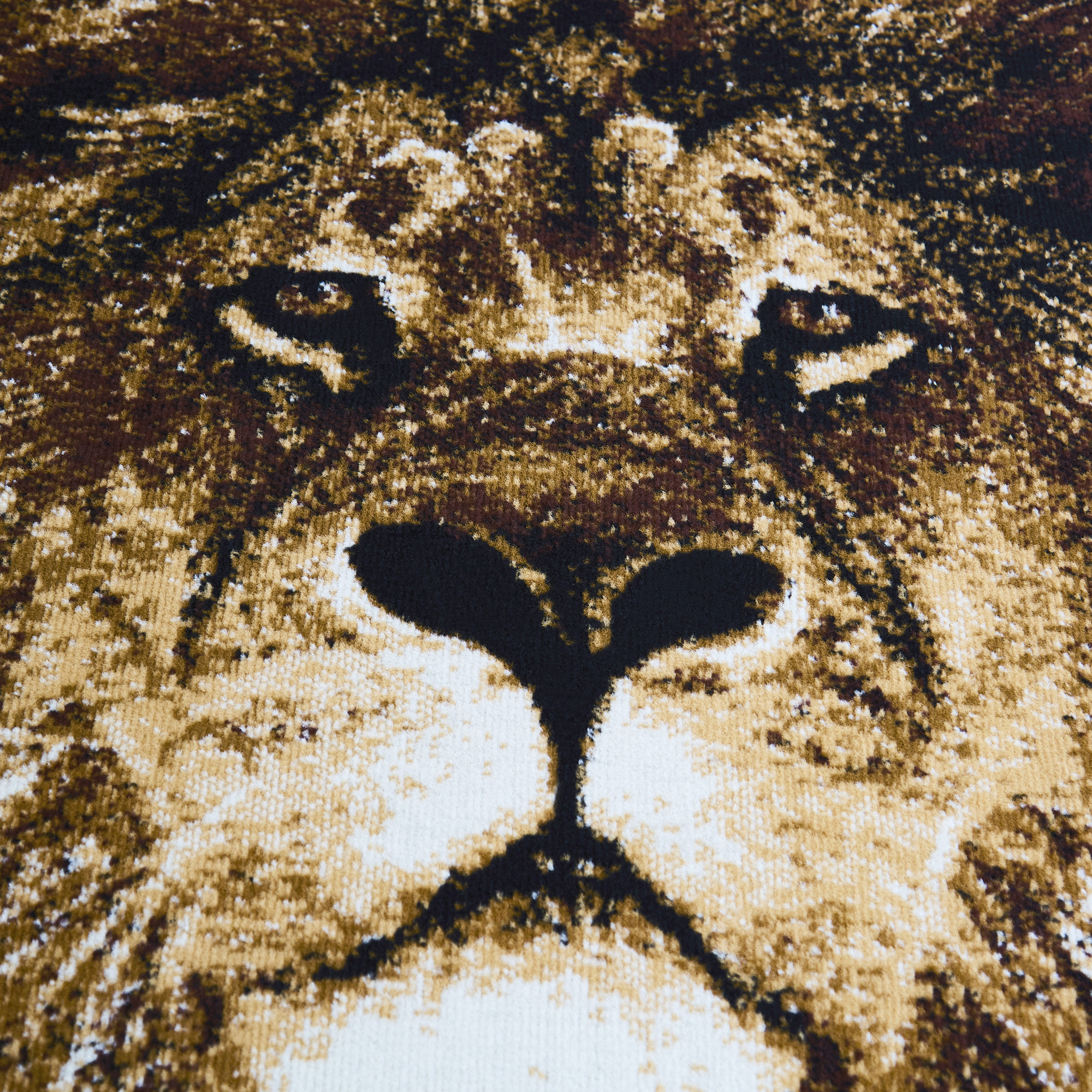 African Lion Lioness Big Cat Beige Area Rug King Of The Jungle Animal Carpet Walmart Com Walmart Com