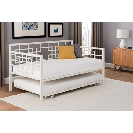 Better Homes and Gardens Twin Daybed with Trundle, Multiple (Augusta Daybed)