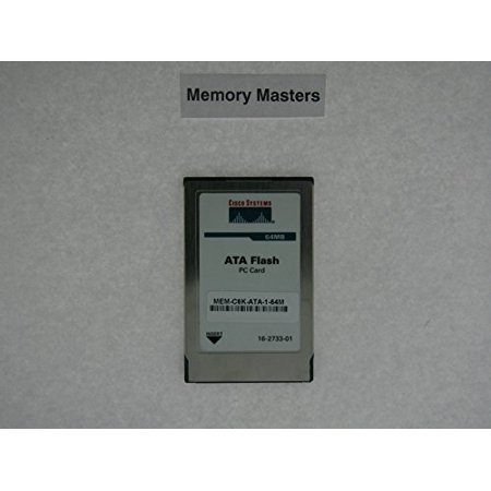 MEM-C6K-ATA-1-64M 64MB Approved Flash Card Cisco 6000/6500 (20mb Cisco Approved Flash Card)