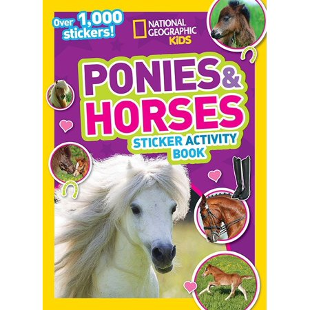 Halloween History National Geographic (National Geographic Kids Ponies and Horses Sticker Activity Book: Over 1,000 Stickers!)