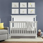 Best Baby Cribs - Baby Relax Jacey 4-in-1 Convertible Crib, Pure white Review