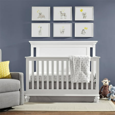 Baby Relax Jacey 4-in-1 Convertible Crib, Pure (Best Baby Relax In Babies)