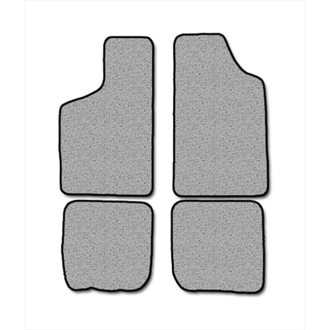 Averys Floor Mats 1034-701 Custom-Fit Nylon Carpeted Floor Mats For 1989-1991 Audi 100 Series & 200 Series, Black, 4 Piece Set