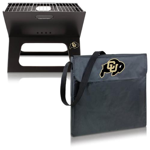 Picnic Time Collegiate Portable X-Grill