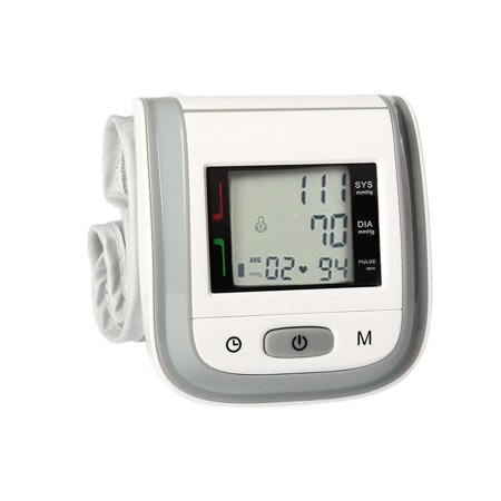 Supersellers Wrist Blood Pressure Monitor Home Medical Wrist Sphygmomanometer Automatic Digital LCD Heart Rate Blood Sensor Pressure Meter for Adults and Children (Child Blood Pressure)