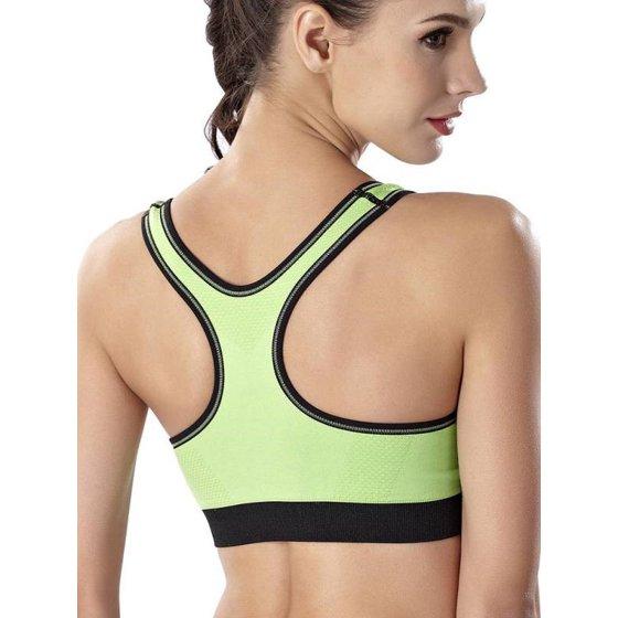 e5ca818d9b Fashionyard Quick Dry Push Up Seamless Tops Bra Women Padded Wireless  Shakeproof Fitness Underwear Zipper Bra - Walmart.com