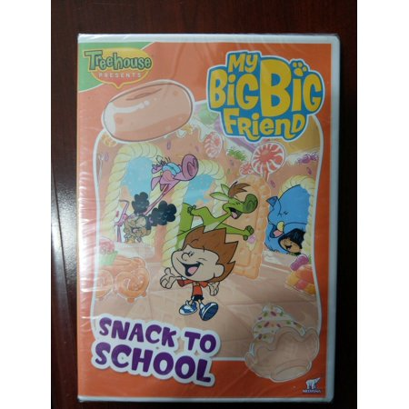 Friends Halloween Episode (NEW Treehouse Presents My Big Big Friend Snack to School DVD Includes 5)