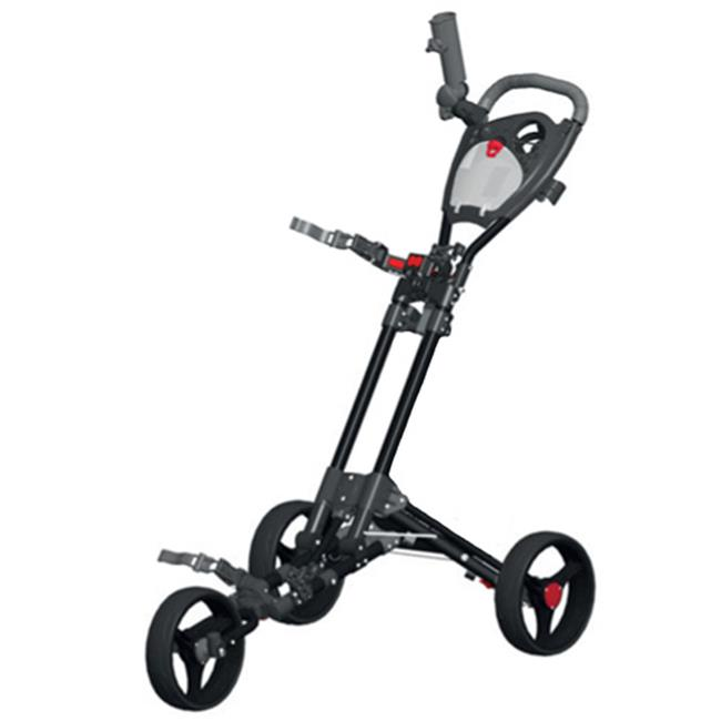Spin It Golf Products GCPro2-Blk 3 Wheel Golf Push Cart, Black by Spin It Golf Products