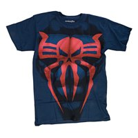 Marvel I Am Spider-Man Mens Costume T-Shirt | 2XL
