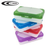 Filemode Pencil Box with Organizer, Assorted Colors AE92960