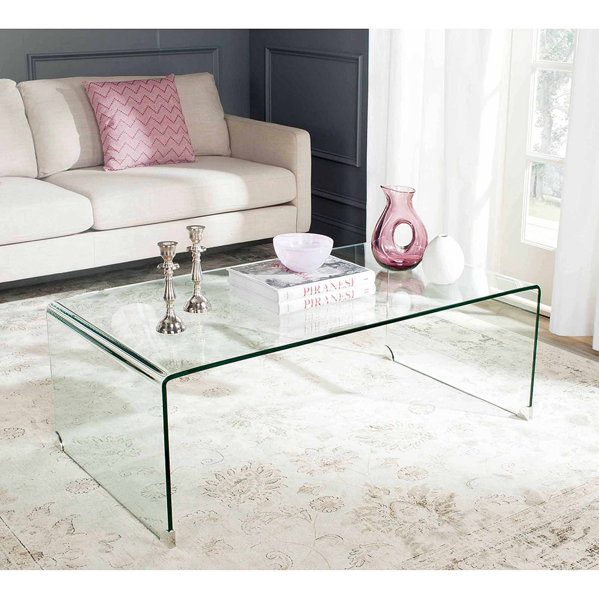 Safavieh Willow Coffee Table, Clear