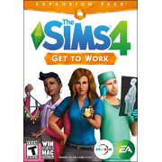 The SIMS 4: Get to Work Expansion Pack, Electronic Arts, PC, 014633733143