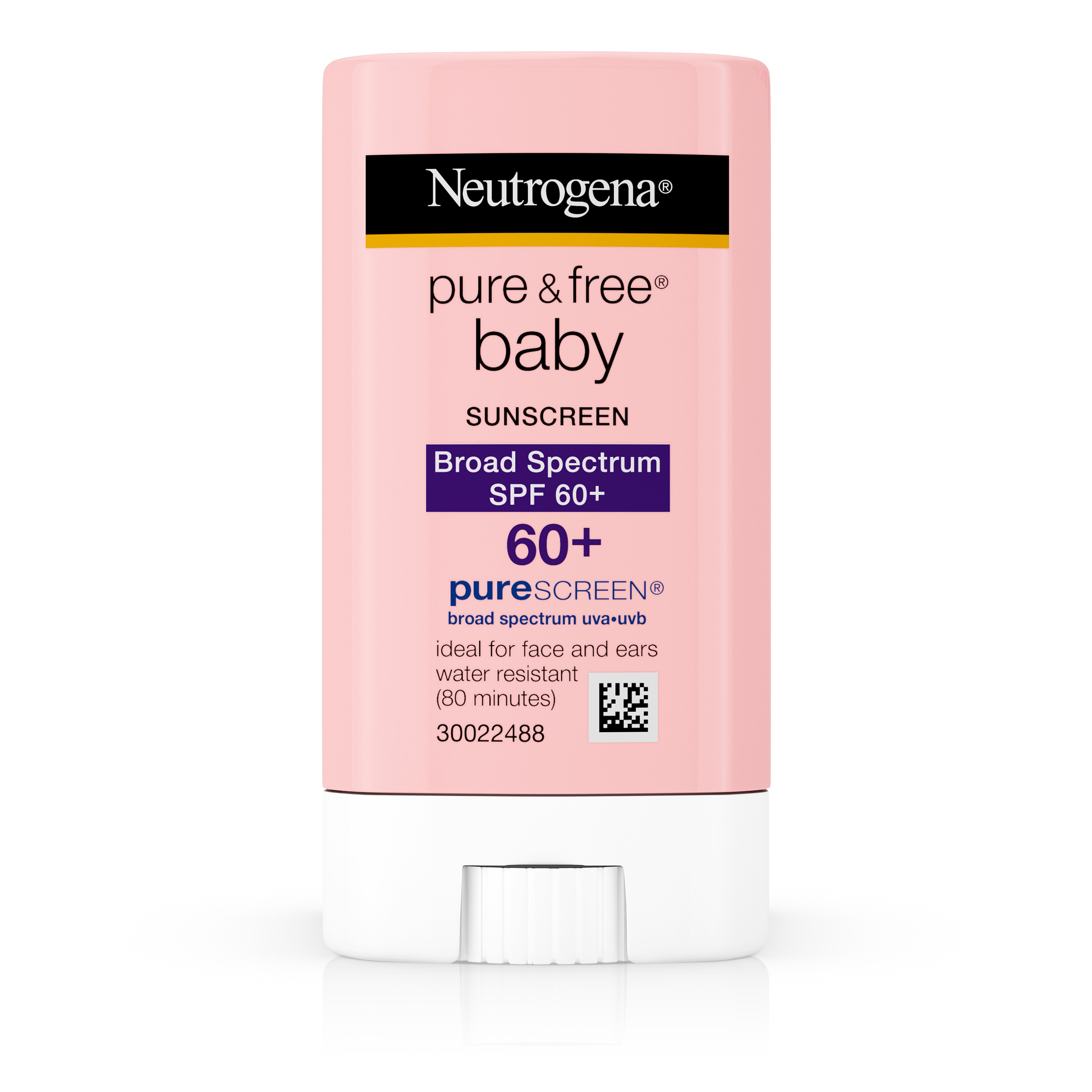Neutrogena Pure & Free Baby Mineral Sunscreen Stick, SPF 60, 0.47 oz