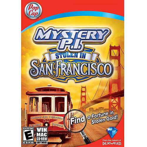 Mystery P.I. Stolen in San Francisco (PC) (Digital Code)