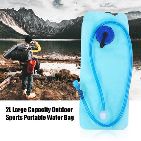 Herwey 2L Large Capacity Portable Water Bag Outdoor Sports Travel Cycling EVA Water Bladder, Cycling Water Bladder, Water Bladder - image 6 of 8
