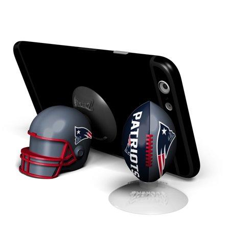 New England Patriots 2-Pack Football & Helmet Suckerz - No Size - Junior Football Helmet