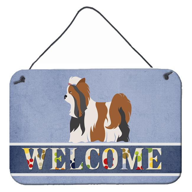 Carolines Treasures BB8308DS812 Biewer Terrier Welcome Wall or Door Hanging Prints - image 1 de 1