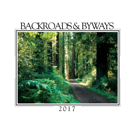 Backroads And Byways Mini Wall Calendar  2017 Scenic America By Creative Arts Publishing