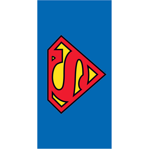"Superman ""Super Superb"" 28"" x 58"" Licensed Beach Towel"