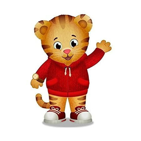 Daniel Tigers Standing Edible Frosting Image Cake Topper