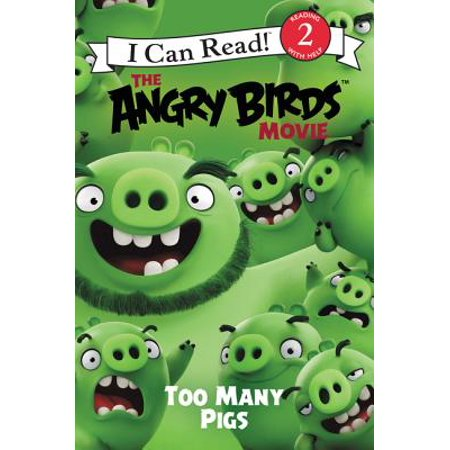 I Can Read!: Level 2: The Angry Birds Movie: Too Many Pigs (Paperback) - Angry Birds Halloween Comic Book