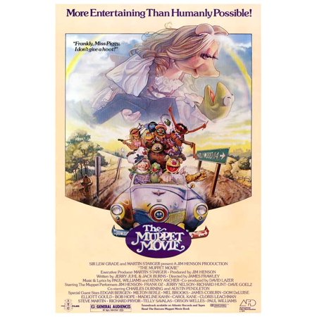 The Muppet Movie (1979) 11x17 Movie Poster
