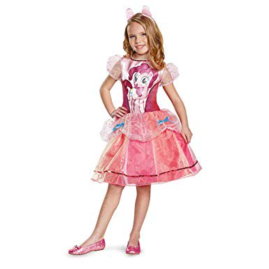 Disguise Pinkie Pie Deluxe Costume, Medium - Pinkie Pie Halloween Costumes