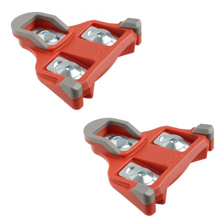 Spd Sl Cleat Set - Cyclingdeal Quality Road Bike Cleats 6 Degrees Float Shimano Road SPD SL Compatible