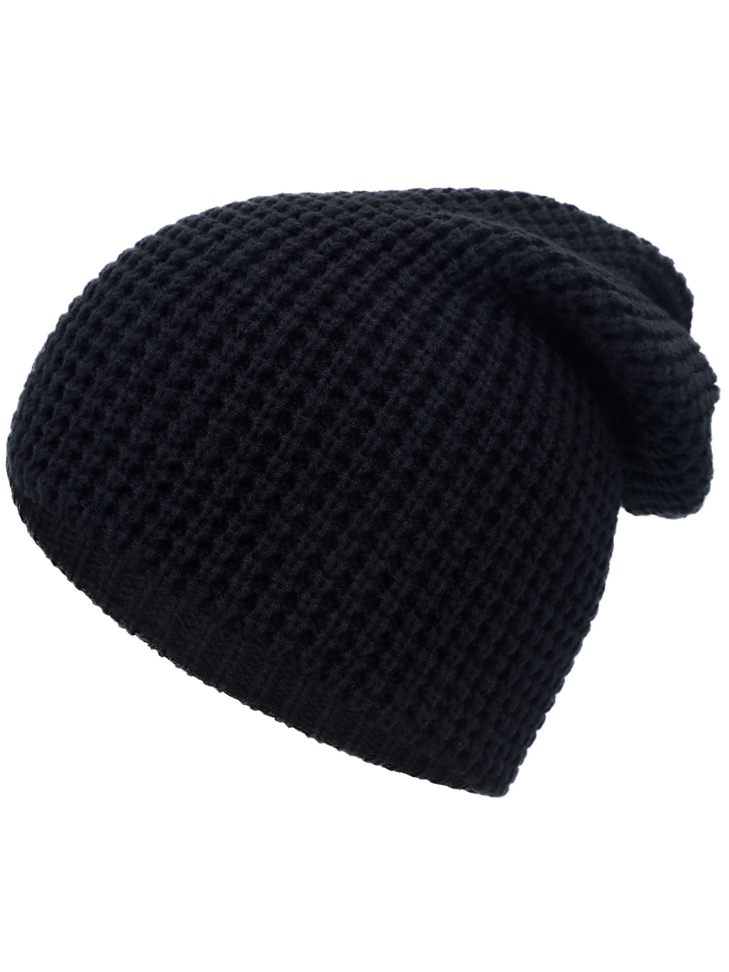 35cf764c825 Simplicity Men   Women s Thick Stretchy Knit Slouchy Skull Cap Beanie