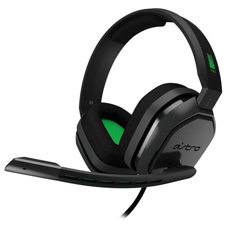 Certified refurbished Grade A Logitech Astro A10 Wired Gaming Headset for Xbox One & PC w/Boom Microphone & 3.5mm Plug (Astro A50 Mic Not Working Xbox One)