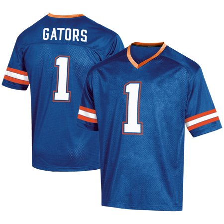 Men's Russell #1 Royal Florida Gators Fashion Football -