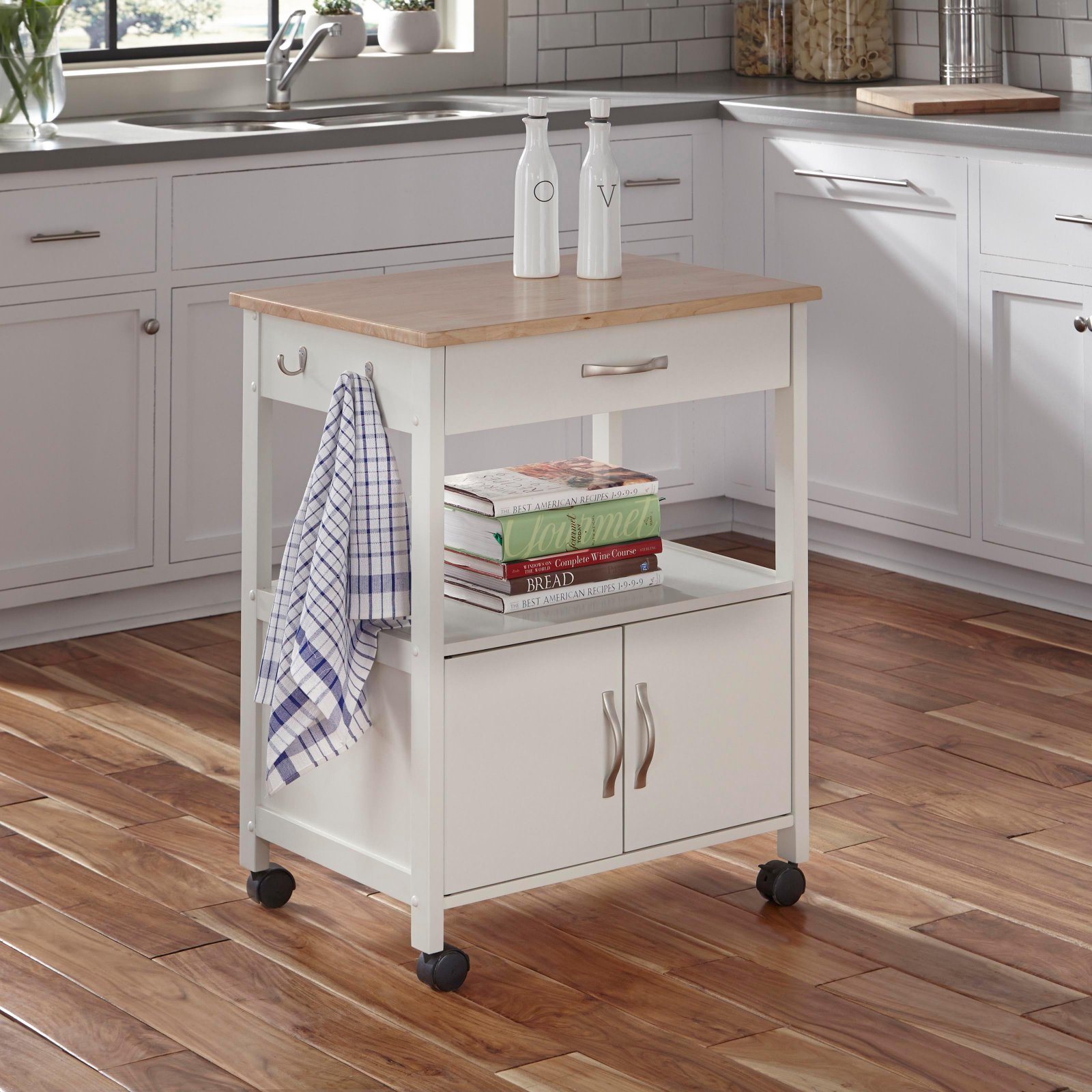 home styles dolly madison kitchen island cart home styles dolly banner kitchen cart white 9239