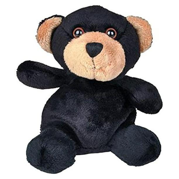 "Rhode Island Novelty 5"" Weez Black Bear Plush Toys"