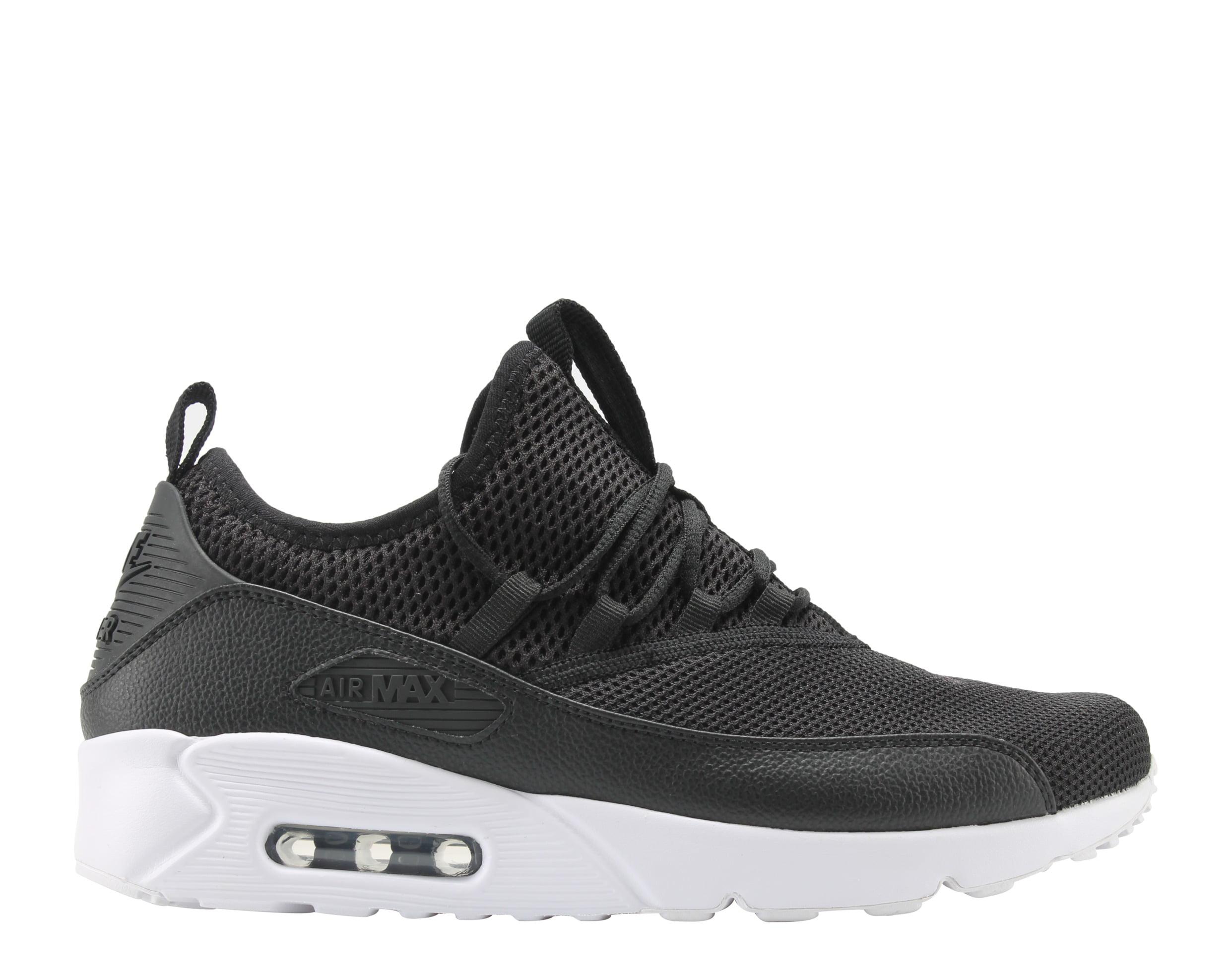 Nike Air Max 90 EZ Black/Black-White Men's Running Shoes AO1745-001