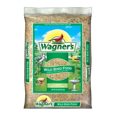 20 LB Wagner's Classic Wild Bird Food (A Little Bird Told Me Bird Food)