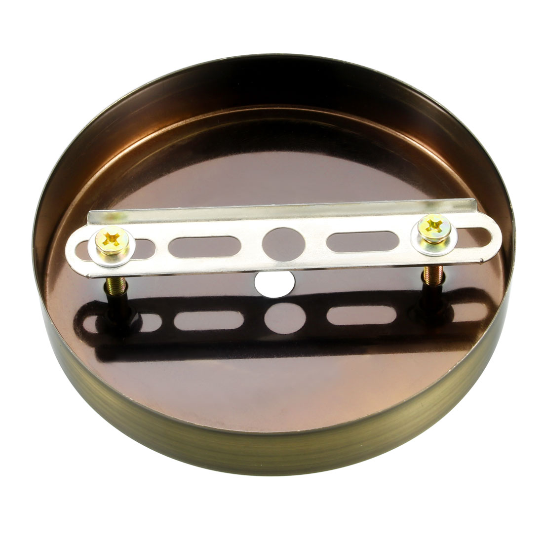 Ceiling Light Plate Base Chassis Disc Pendant Accessories Bronze w Screw 3pcs - image 2 of 4