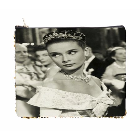 Audrey Hepburn British Actress in a Crown - Double Sided 6.5