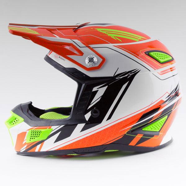 Zox Z-MX10 Concept Offroad Helmet Hi-Viz Orange