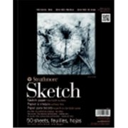 Strathmore 400 Spiral Binding General Purpose Sketch Pad - 11 x 14 inch - 50 Sheets