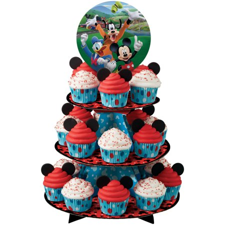 Mickey Mouse Cupcake And Treat Stand