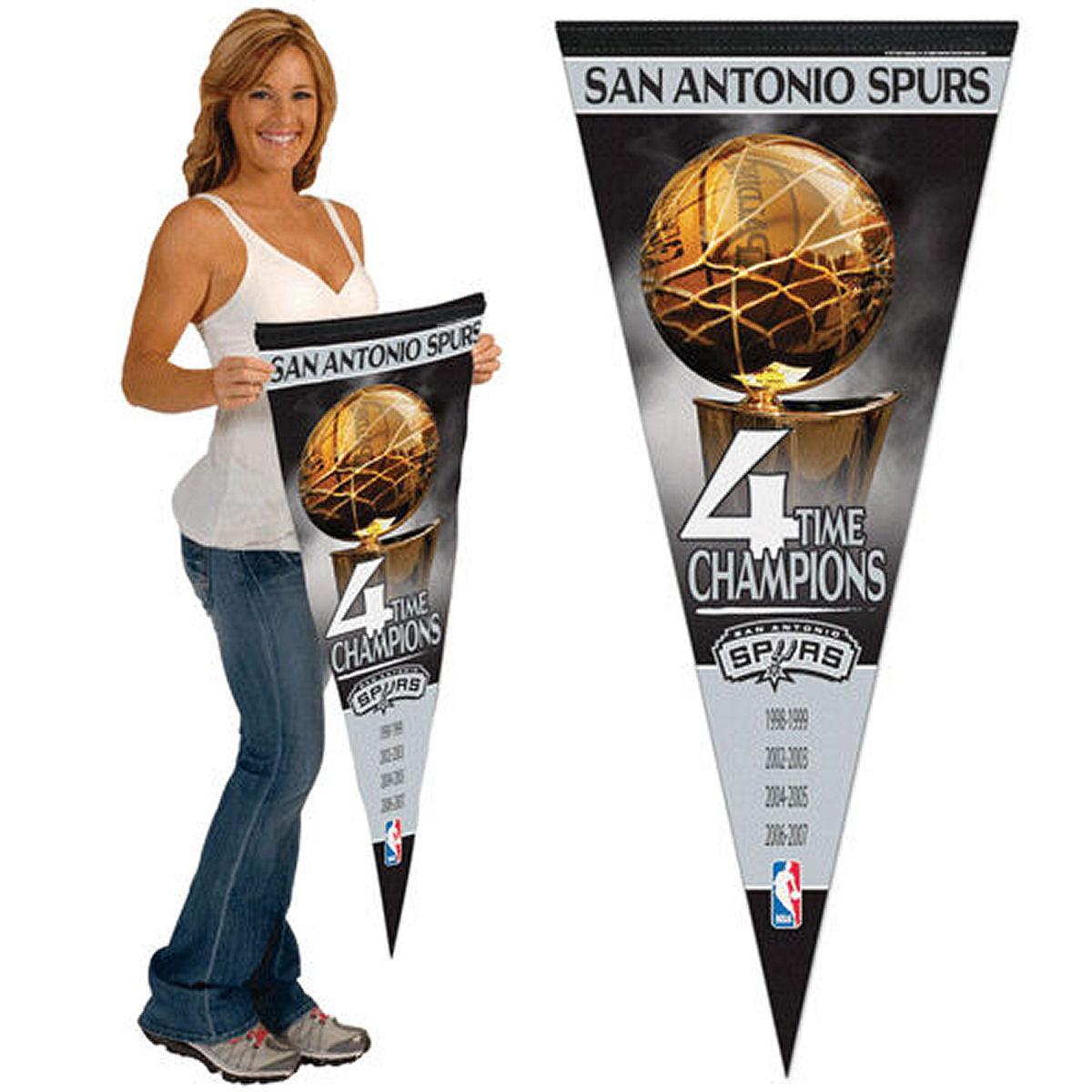 San Antonio Spurs Felt Wool Blend Pennant