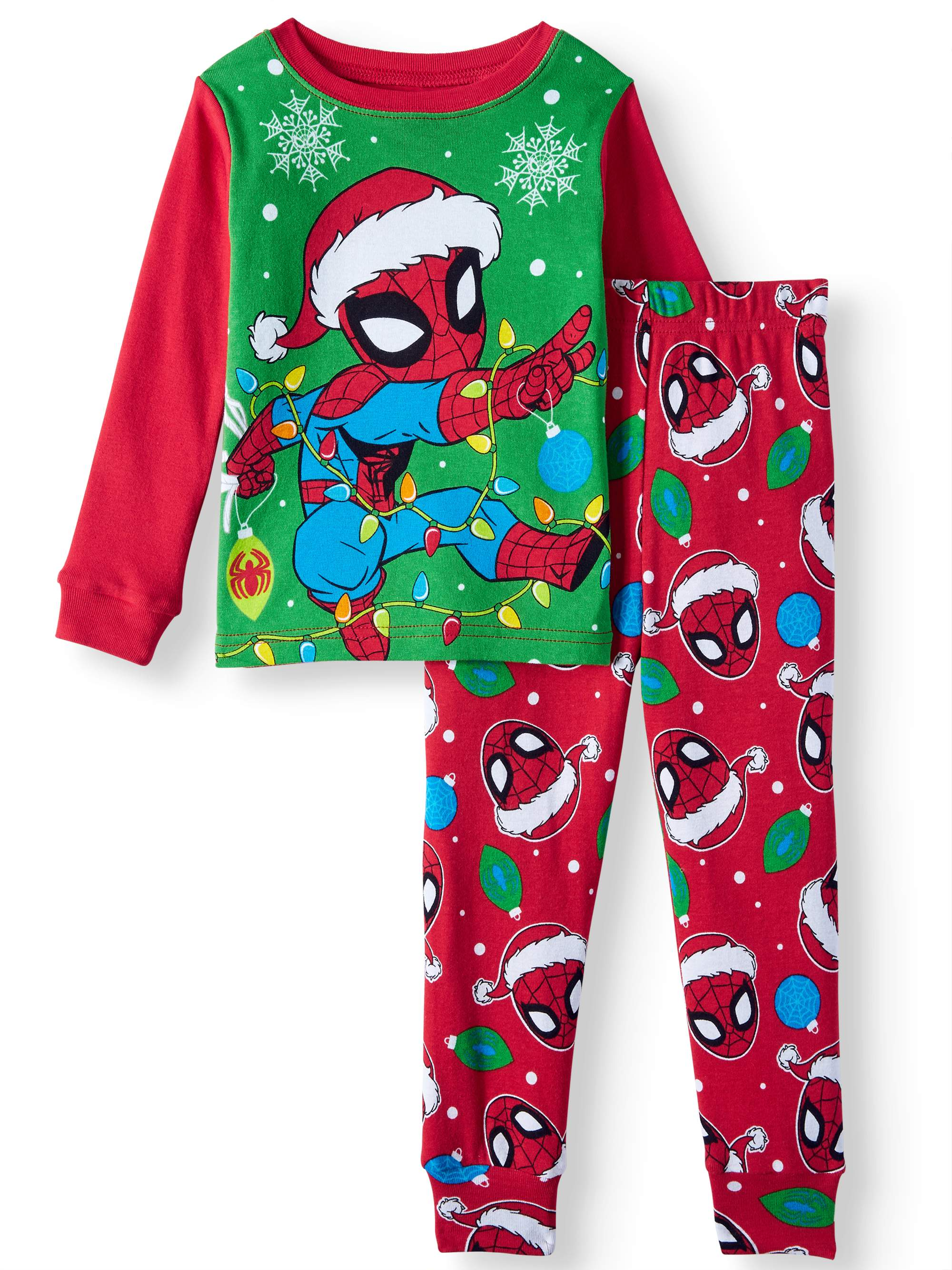 21a6a66c3089 Christmas Long Sleeve Tight Fit Pajamas