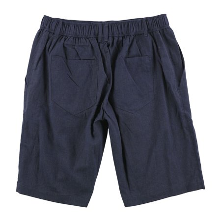 Tasso Elba Mens Chambray Casual Walking Shorts indigo S - image 1 de 2