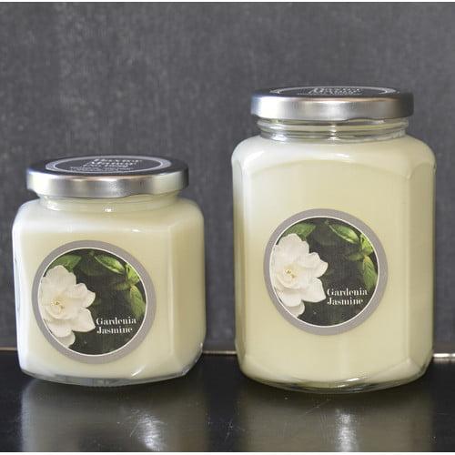 Baxter Manor Artisan Gardenia Jasmine Jar Candle